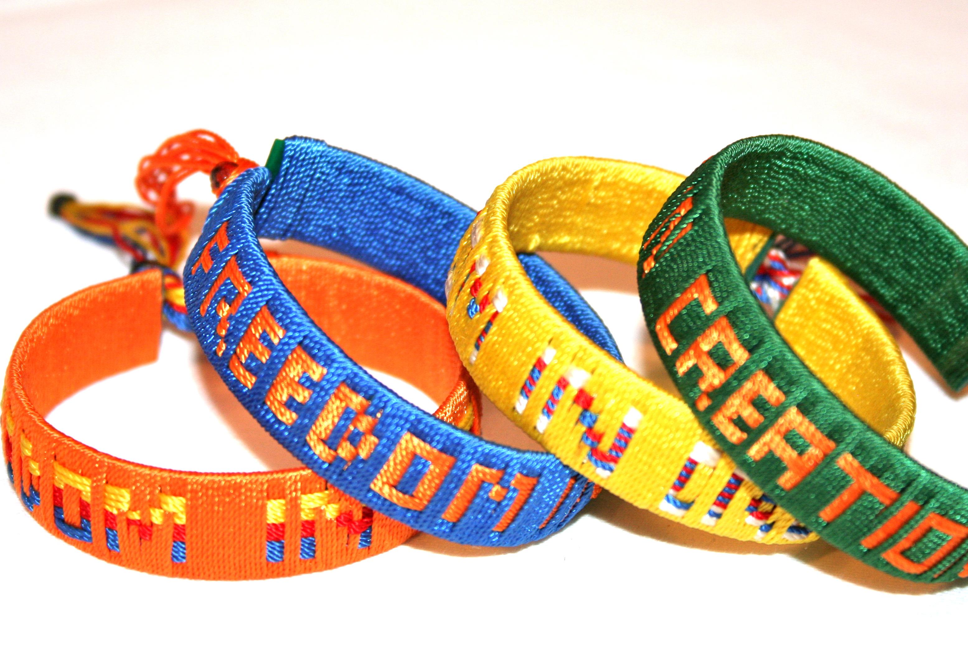 Woven Solidarity Bracelet